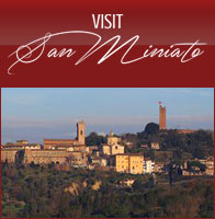 Visit San Miniato Pisa Florence guided tour truffle wine food tasting